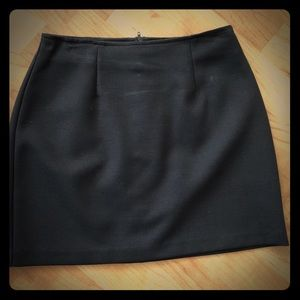Chocolate Brown Mini Skirt